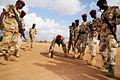 Djiboutian Army Quick Reaction Regiment trains at Ali Oune, Djibouti, February 2011.jpg