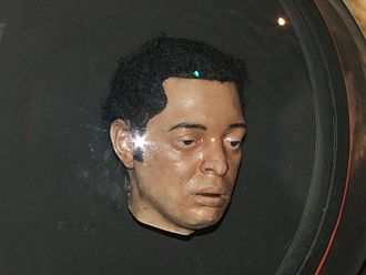 Mickey Smith - The plastic Mickey prop, on display at the Doctor Who Experience.