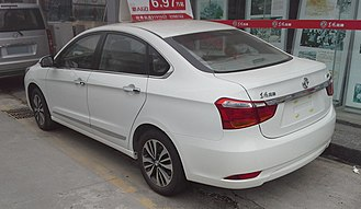 Dongfeng Fengshen A60 - Dongfeng Fengshen A60 second facelift