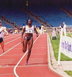 Donna Fraser British sprinter