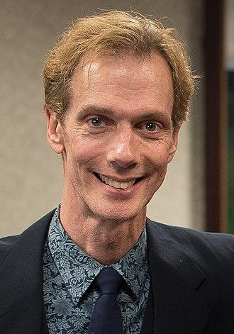Doug Jones (actor) - Jones at Judson University, October 2015