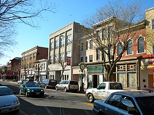 Cumberland County, New Jersey - Image: Downtown Bridgeton NJ
