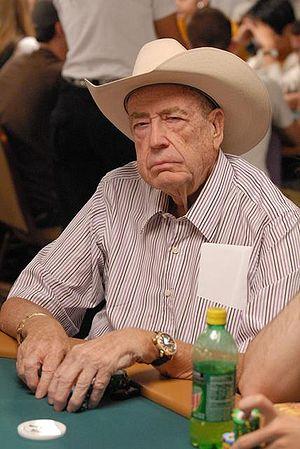 Doyle Brunson in 2007 World Series of Poker - ...