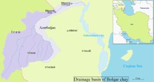 Balharud - Drainage basin of Bolqarchay