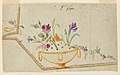 Drawing, Design for Embroidered Waistcoat, pattern 1600 of the Fabrique de St. Ruf, ca. 1785 (CH 18214299-2).jpg