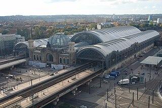 railway station in Germany