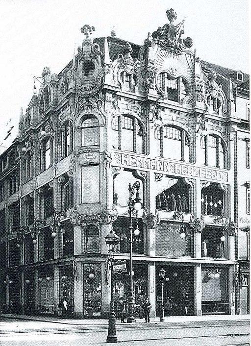 Dresden Kaufhaus Herzfeld 1905