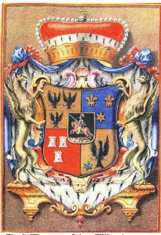 John William, Baron Ripperda - Coat-of-Arms of the Duke de Ripperda