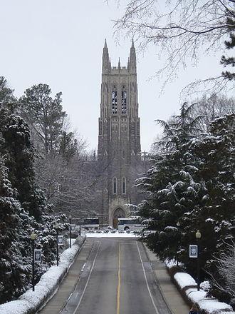 Duke Chapel - Duke Chapel in winter
