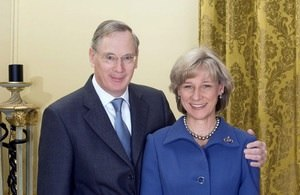 Prince Richard, Duke of Gloucester - Prince Richard, Duke of Gloucester and his wife, Birgitte