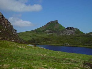 Raasay - Dùn Caan from Loch na Mna