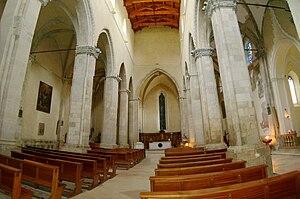 Larino Cathedral - The interior