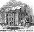 DwightSchool ConcordSt Boston HomansSketches1851.jpg