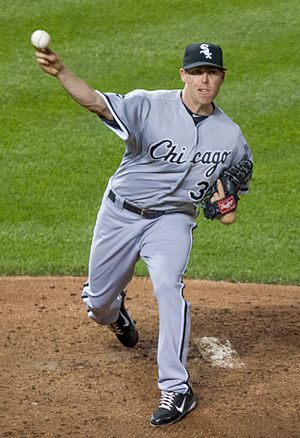 Dylan Axelrod - Axelrod with the Chicago White Sox