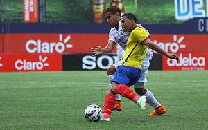 Jefferson Montero - Montero in action for Ecuador in 2015