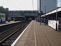 Ealing Broadway stn mainline slow platforms look west.JPG
