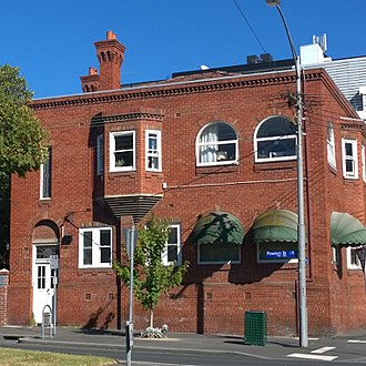 East Melbourne, Victoria - Early 20th century building in East Melbourne