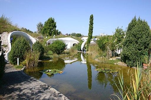 5 futuristic home designs 33rd square for Earth house switzerland