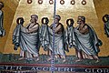 Earth kings detail on the Dome's mosaic - Palatine Chapel - Aachen - Germany 2017.jpg