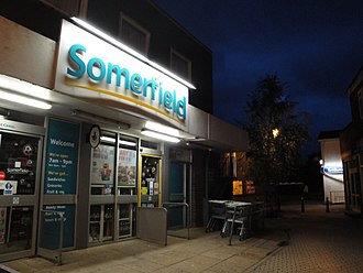 Somerfield - A Somerfield in East Cowes on the Isle of Wight.