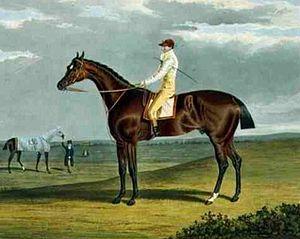 Ebor (horse) - Ebor', the Winner of the Great St. Leger at Doncaster, 1817 by John Frederick Herring, Sr.
