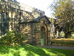 Eckington parish church porch.JPG