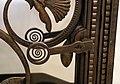 Edgar brandt, porte da ascensore in ferro, vetro e bronzo, francia 1926 04 maniglia.jpg