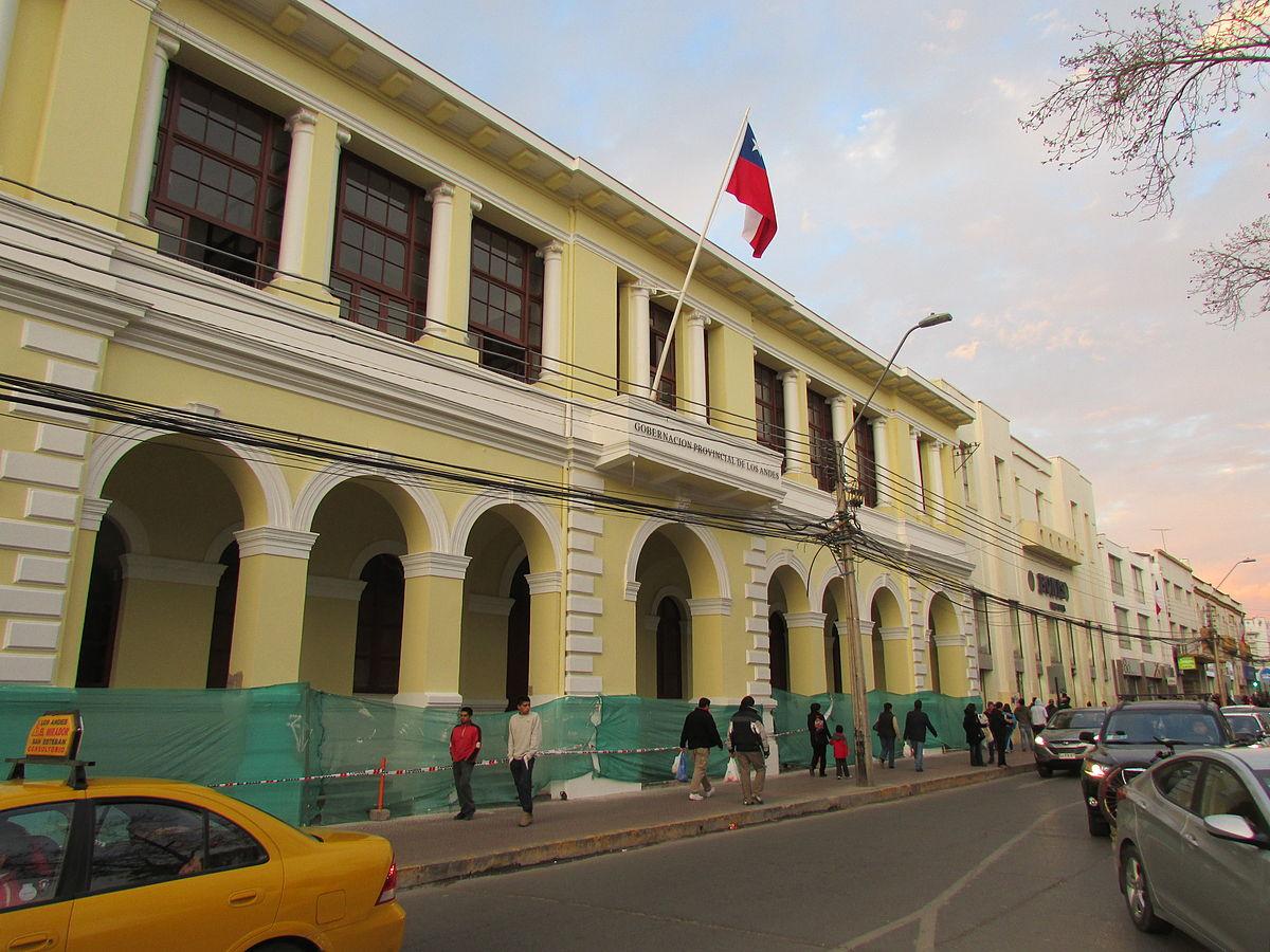 edificio de la gobernaci n provincial de los andes