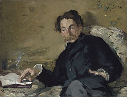 Едуар Мане: Portrait of Stéphane Mallarmé