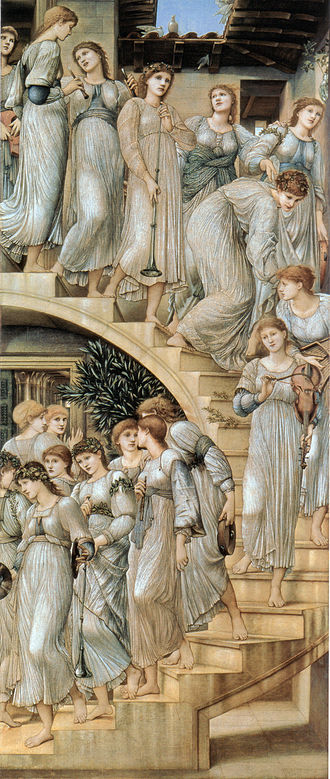 Edward Burne-Jones - The Golden Stairs, 1880