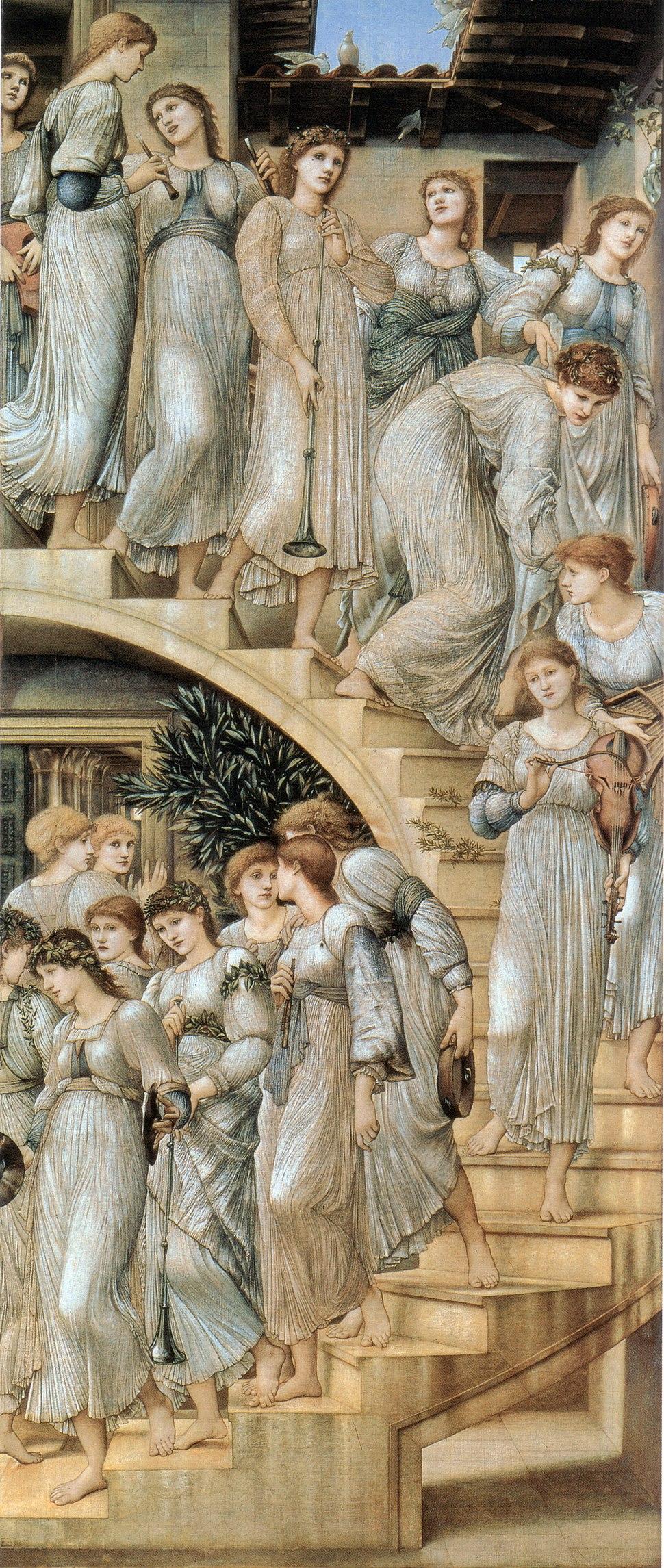 Edward Burne-Jones The Golden Stairs