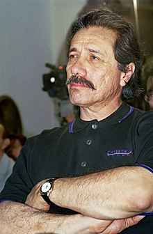 O actor estausunidense Edward James Olmos, en una imachen de 2010.