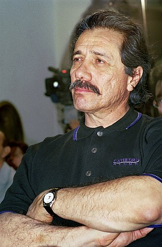 Edward James Olmos - Olmos at the Guadalajara International Film Festival, 2010