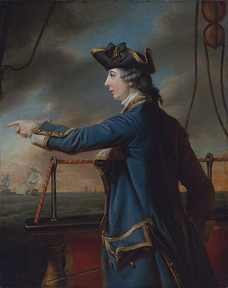 Sir Charles Knowles, 1st Baronet - Sir Charles Knowles's son, Edward Knowles, portrait by Francis Cotes. Edward Knowles was lost when his ship, HMS Peregrine, disappeared at sea in 1762.