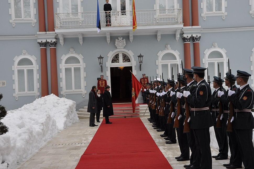 Eesti uus suursaadik Montenegros andis üle volikirja (8313238465)