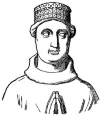 John Holland, 2nd Duke of Exeter - Drawing of John Holland's tomb effigy