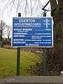 Egerton United Reformed Church, Sign - geograph.org.uk - 1770928.jpg