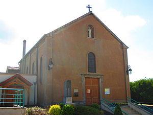 Alzing - Image: Eglise Alzing 2