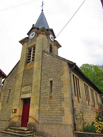Saintin de Meaux - The church of Saint Saintin in the Vaux-lès-Palameix
