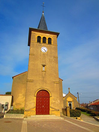 Ars-Laquenexy - The church in Ars-Laquenexy