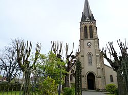 Eglise de Garlin vue 2.JPG