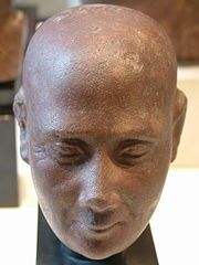 Head of an elderly man-E 9420