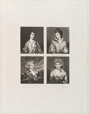 Elizabeth, Marchioness of Lothian; Jane, Duche...