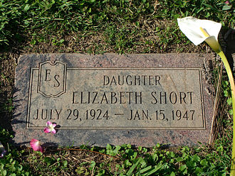 Black Dahlia - Short's grave in Oakland, California.
