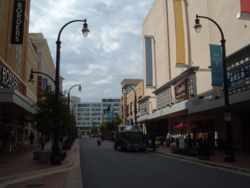 Downtown Silver Spring's Ellsworth Drive