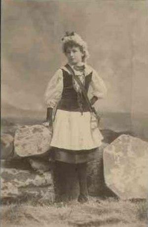 Herbert Angas Parsons - Image: Elsie Bonython 13yrs 1887 B7723 41