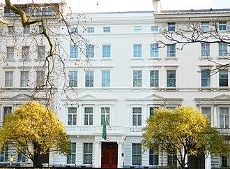 Embassy of Iran, London - Image: Embassy of the Islamic Republic of Iran, London (2016) 09