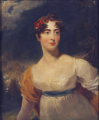 FitzRoy Somerset, 1st Baron Raglan - Emily Harriet Wellesley-Pole, Lady FitzRoy Somerset (after Thomas Lawrence)