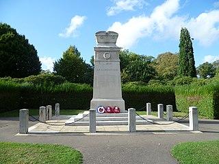 War memorials in Enfield Town