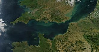 English Channel - Image: English Channel Satellite